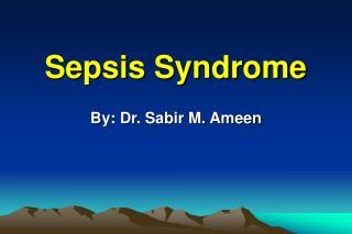 Sepsis Syndrome