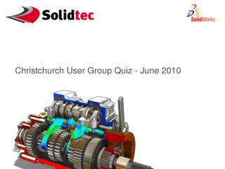 Christchurch User Group Quiz - June 2010