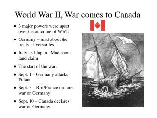 World War II, War comes to Canada