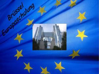 Br�ssel Europaschulung