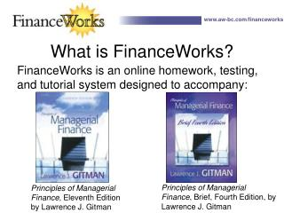 What is FinanceWorks
