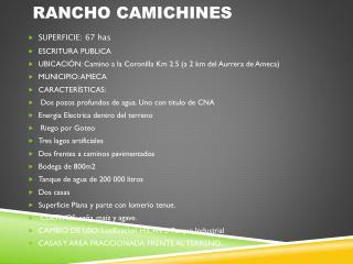 RANCHO CAMICHINES