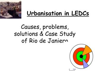 Urbanisation in LEDCs