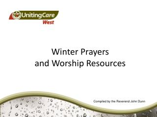 Winter Prayers  and Worship Resources