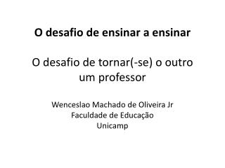 QUAL O PAPEL DO ESTÁGIO  NA FORMAÇÃO DO PROFESSOR