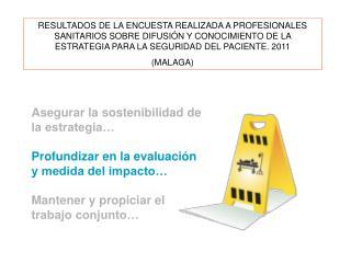 Encuestas respondidas sobre difusión y conocimiento de la ESP Respuestas completas:973