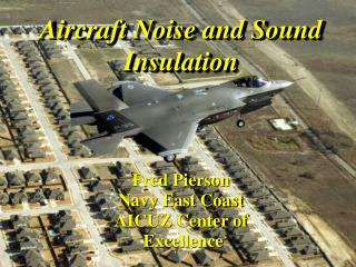 Aircraft Noise and Sound Insulation