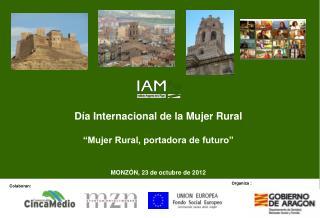 """Día Internacional de la Mujer Rural  """"Mujer Rural, portadora de futuro"""""""