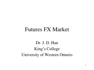 Futures FX Market