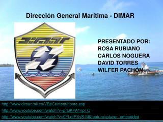 Direcci�n General Mar�tima - DIMAR