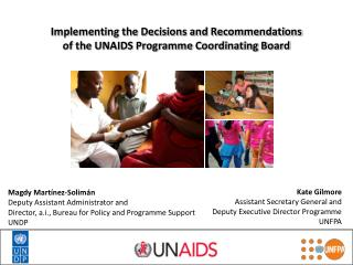 Implementing the Decisions and Recommendations of the UNAIDS Programme Coordinating Board