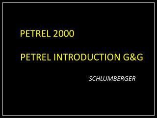PETREL 2000