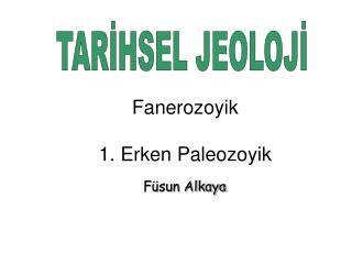 TARİHSEL JEOLOJİ
