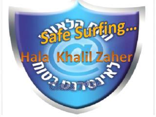 Safe Surfing…