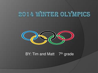 2014 Winter Olympics