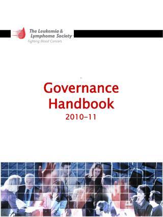 Governance  Handbook 2010-11