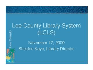 Lee County Library System  (LCLS)