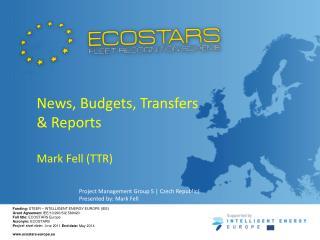 Funding:  STEER – INTELLIGENT ENERGY EUROPE (IEE) Grant Agreement  IEE/10/290/SI2.589420