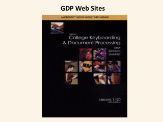 GDP Web Sites