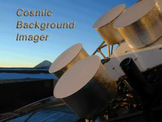 The  Cosmic Background Imager - a status report -