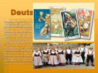 Deutsch Folklore