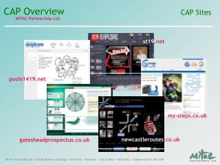 CAP Sites