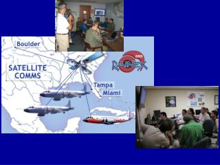 Briefings at the RAINEX Science Operations Center at RSMAS/UM