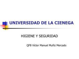 UNIVERSIDAD DE LA CIENEGA