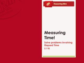 Measuring Time!