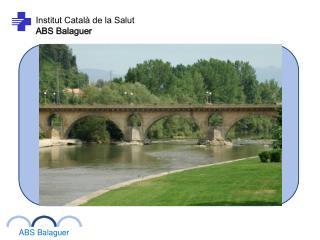 Institut Català de la Salut ABS Balaguer