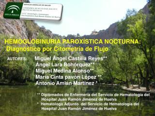 HEMOGLOBINURIA PAROXÍSTICA NOCTURNA:  Diagnóstico por Citometría de Flujo