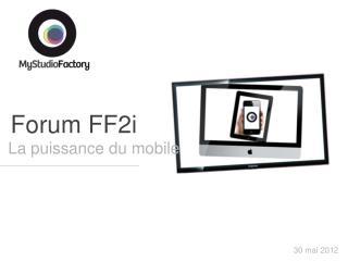 Forum FF2i