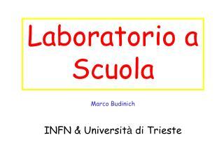 Laboratorio a Scuola