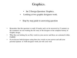 Graphics.