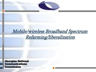 Georgian National  Communications  Commission