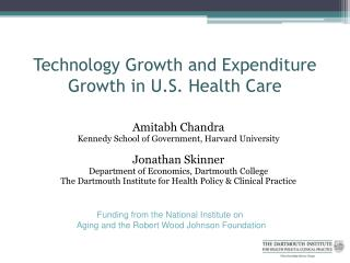Technology Growth and Expenditure Growth in U.S. Health Care