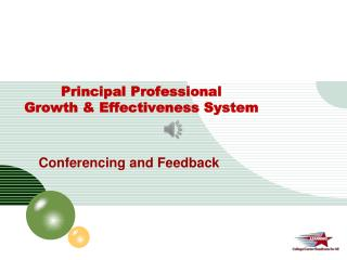 Principal Professional  Growth & Effectiveness System