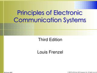 Communication by frenzel electronics pdf