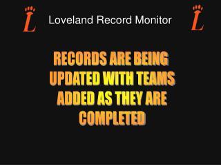 Loveland Record Monitor