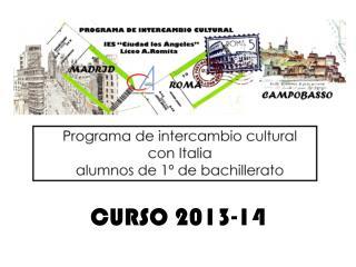 CURSO 2013-14