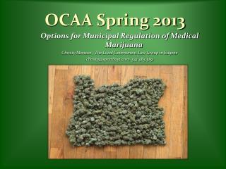 OCAA Spring 2013