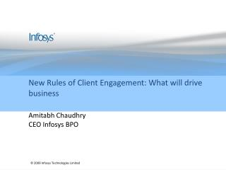 New Rules of Client Engagement: What will drive business