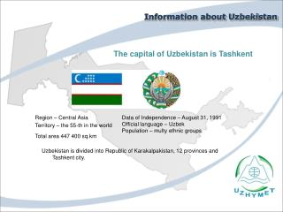 Information about Uzbekistan