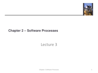 Chapter 2  Software Development Process Models