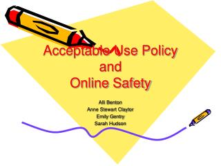 Acceptable Use Policy and Online Safety