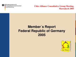 Member�s Report  Federal Republic of Germany 2005