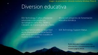 Diversion educativa