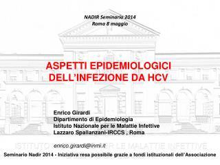 NADIR Seminario 2014 Roma 8 maggio
