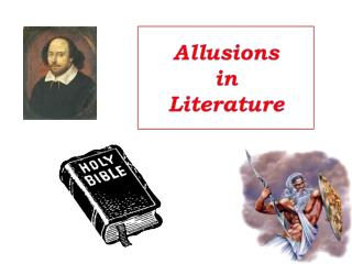 Allusions in  Literature