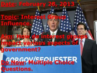 Interest groups, Iron Triangles, and Amicus Briefs